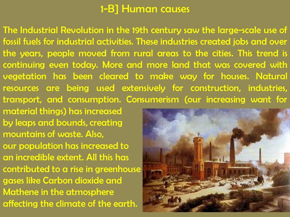 1-B] Human causes